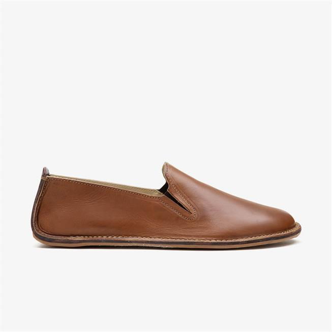 Porto Rocker Slip on Leather Mens