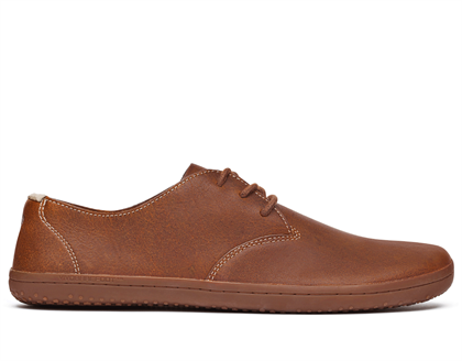 Ra II MensA barefoot Oxford laceup in Wild Hide leather140View